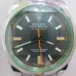 ミルガウス ref、116400GV 発売中です。広島市時計リサイクル。