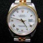 デイトジャスト 16233買取りしました。動かないけど10万円にて買取りしました。ブランド時計リサイクル。