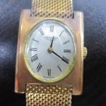 ロンジン金無垢時計を買取させて頂きました。