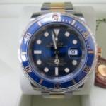 サブマリーナ・デイト(青サブ)Ref.116613、買取しました。